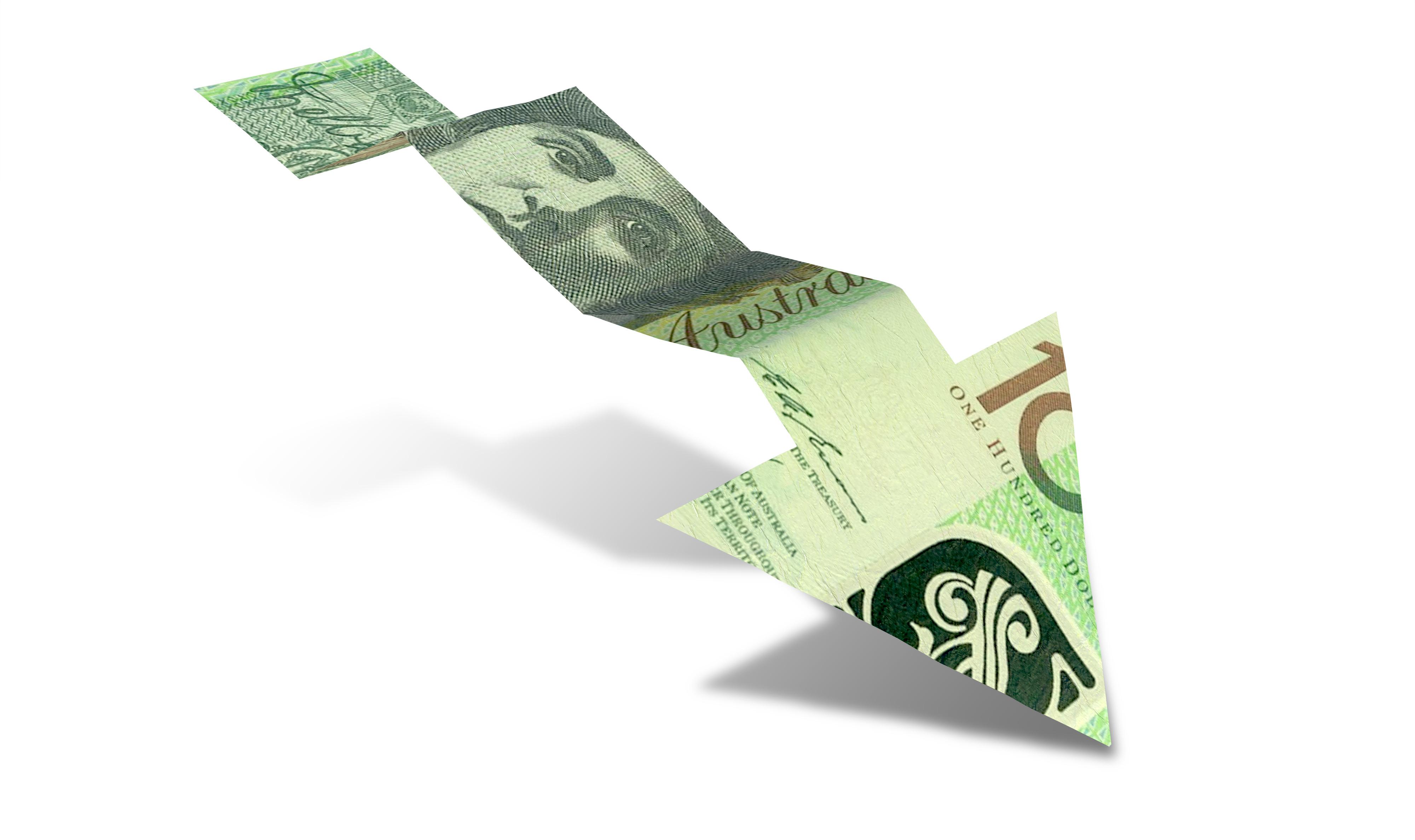 Aussie dollar falls форекс советники которые не сливаются